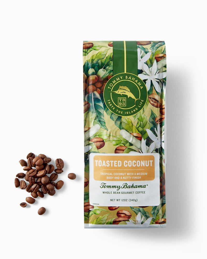 Tommy Bahama Toasted Coconut Coffee Beans