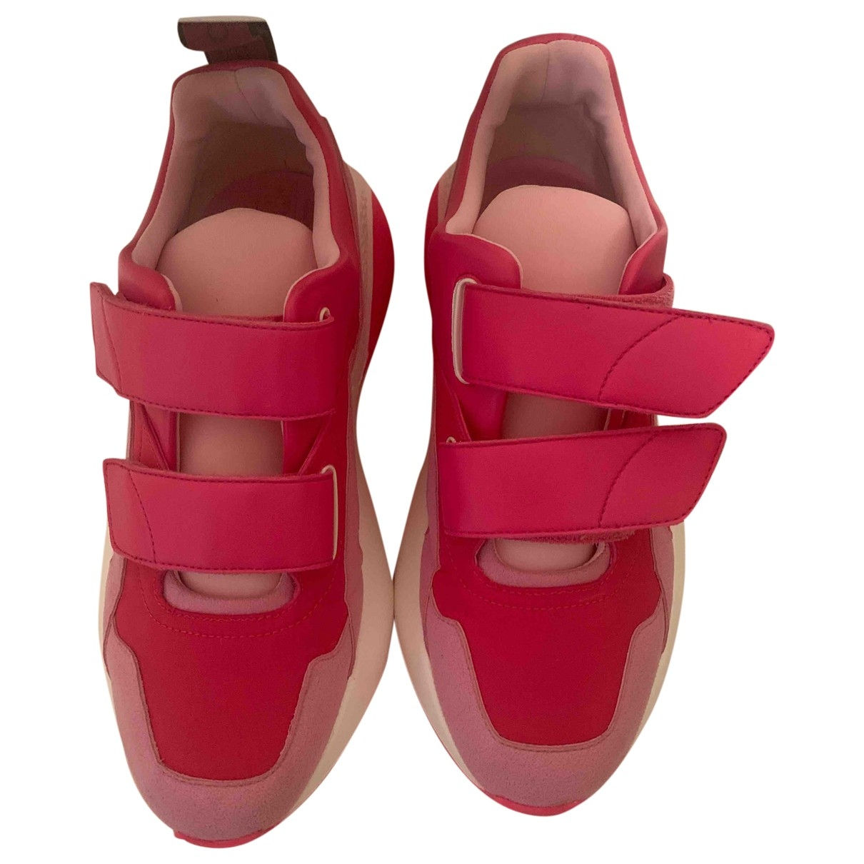 Stella Mccartney - Baskets Eclypse pour femme en caoutchouc - rose