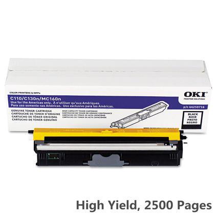 Okidata 44250716 Original Black Toner Cartridge High Yield