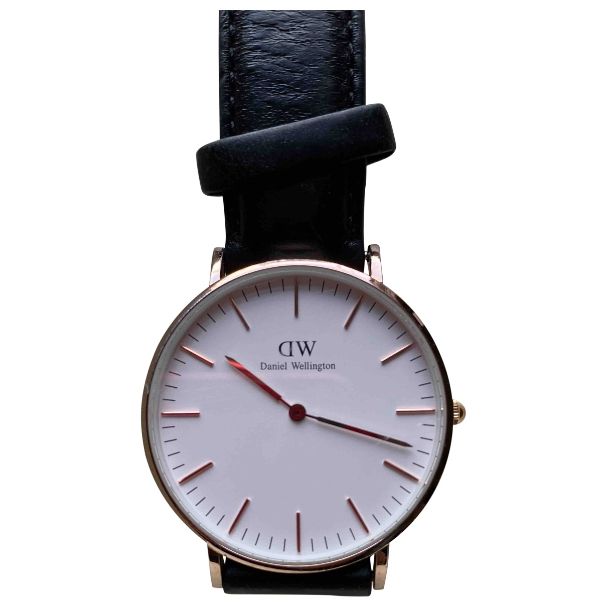 Daniel Wellington \N Black Steel watch for Men \N