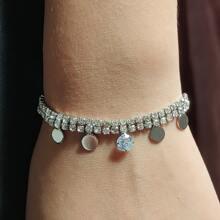 Armband mit Strass Dekor