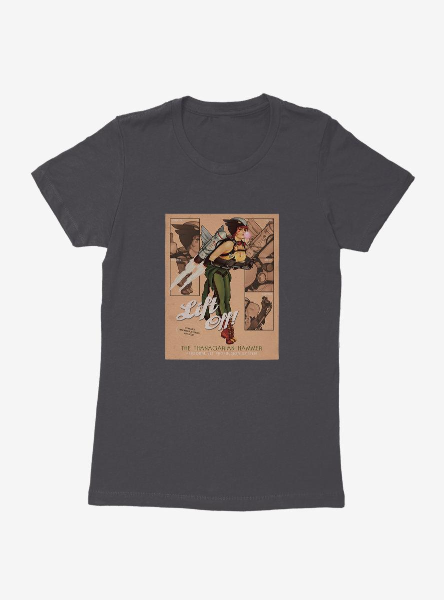 DC Comics Bombshells Hawkgirl Lift Off Womens T-Shirt