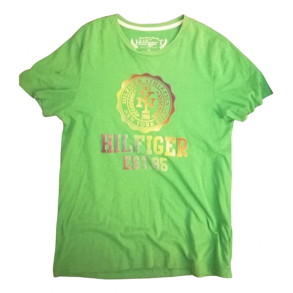 Tommy Hilfiger \N T-Shirts in  Gruen Baumwolle