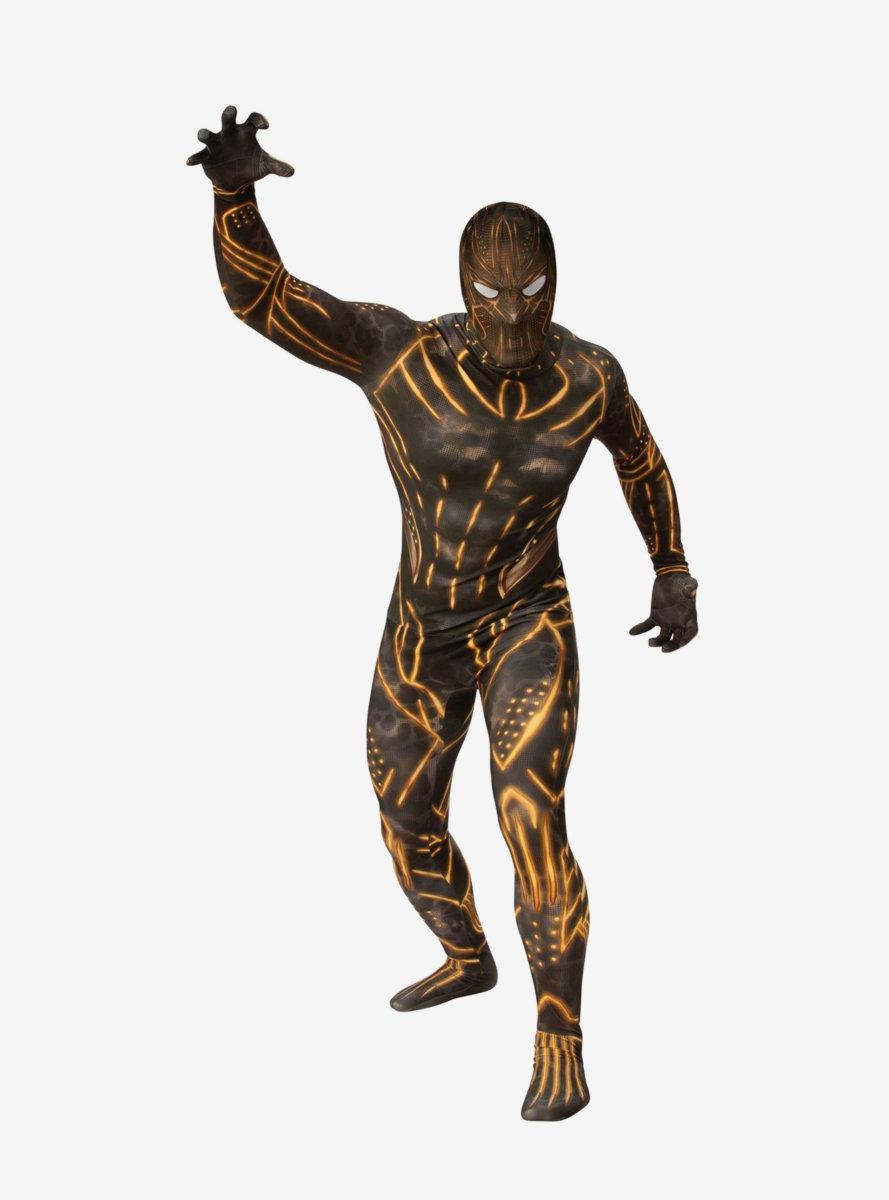 Marvel Black Panther Movie Erik Killmonger Second Skin Suit Costume