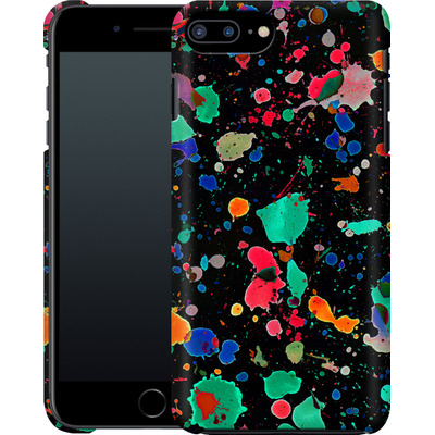 Apple iPhone 7 Plus Smartphone Huelle - Colourful Splatter von Amy Sia