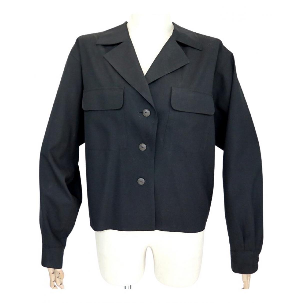 Yves Saint Laurent N Black Cotton jacket for Women M International