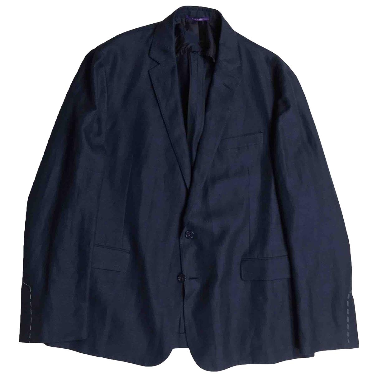 Ralph Lauren Purple Label \N Navy jacket  for Men 46 UK - US