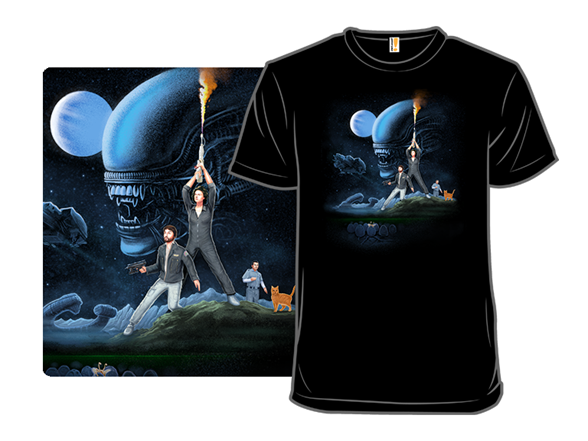 Alien Wars T Shirt