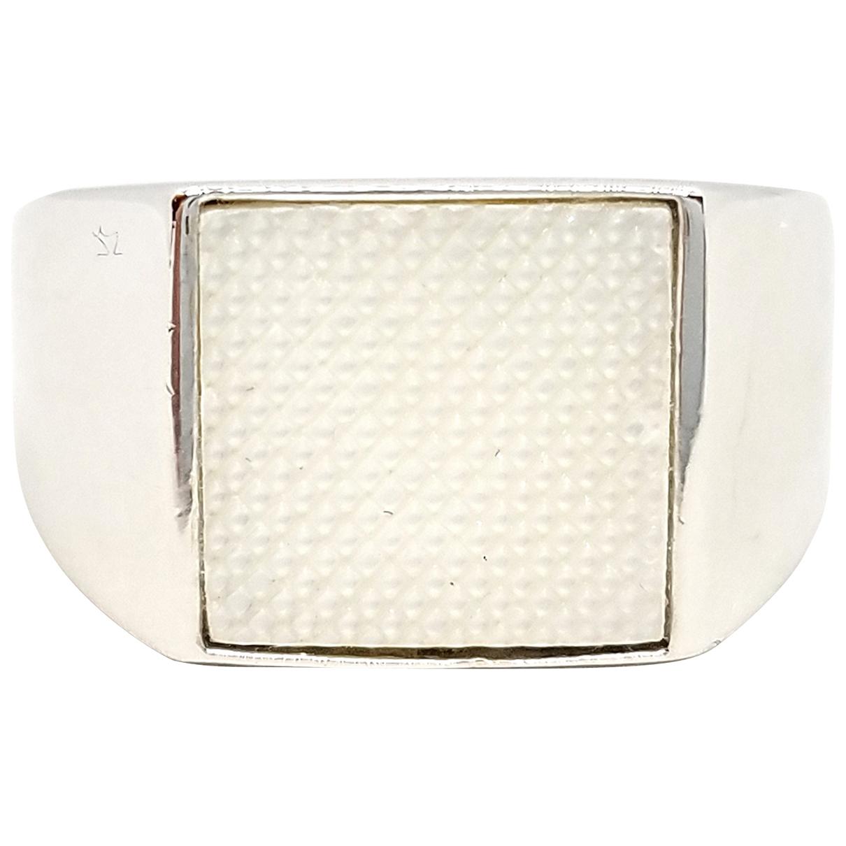 Dior - Bague   pour femme en or blanc - argente