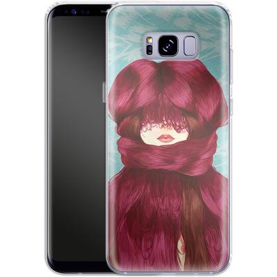 Samsung Galaxy S8 Plus Silikon Handyhuelle - Cold von Marcos Chin