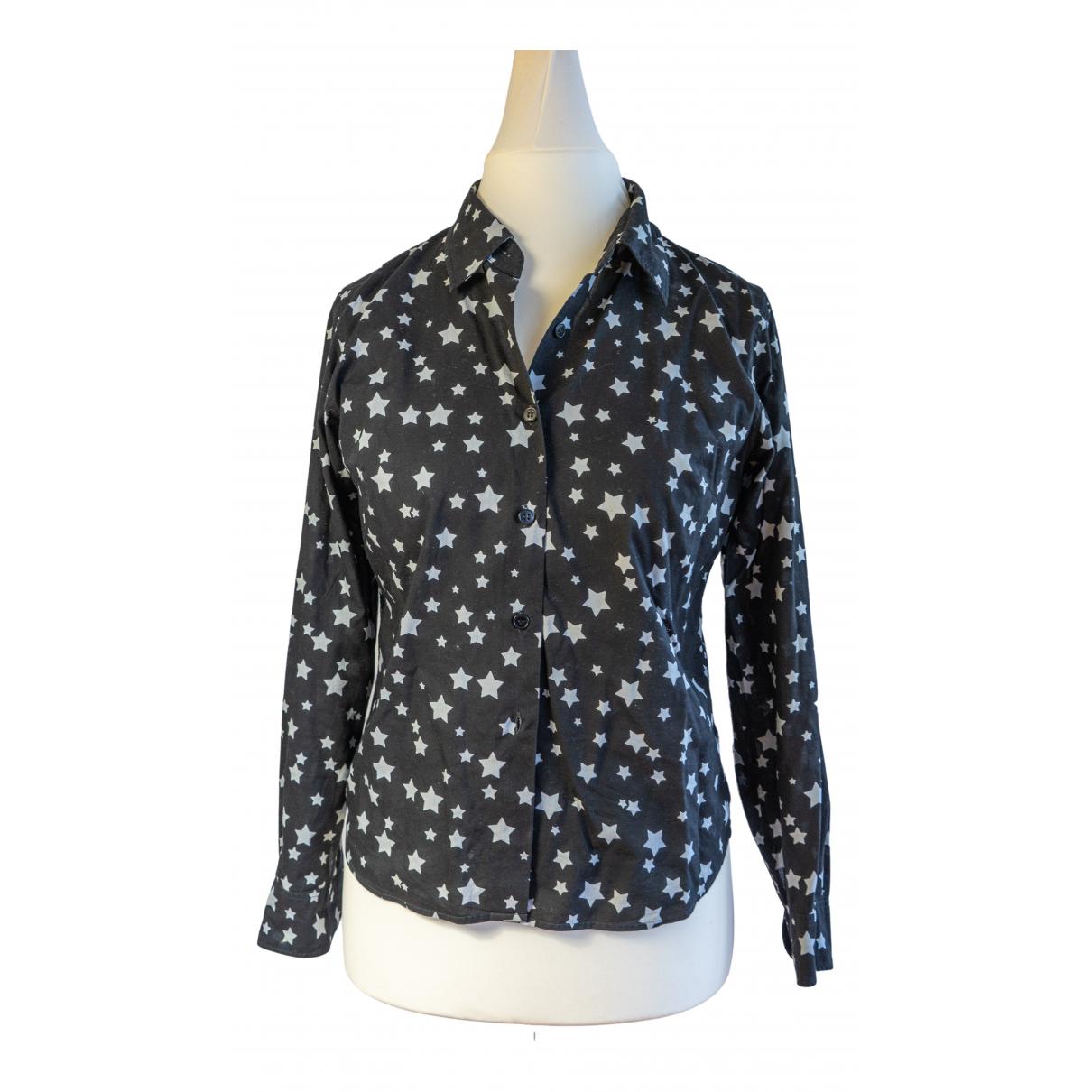 Agnes B. - Top   pour femme en coton - noir