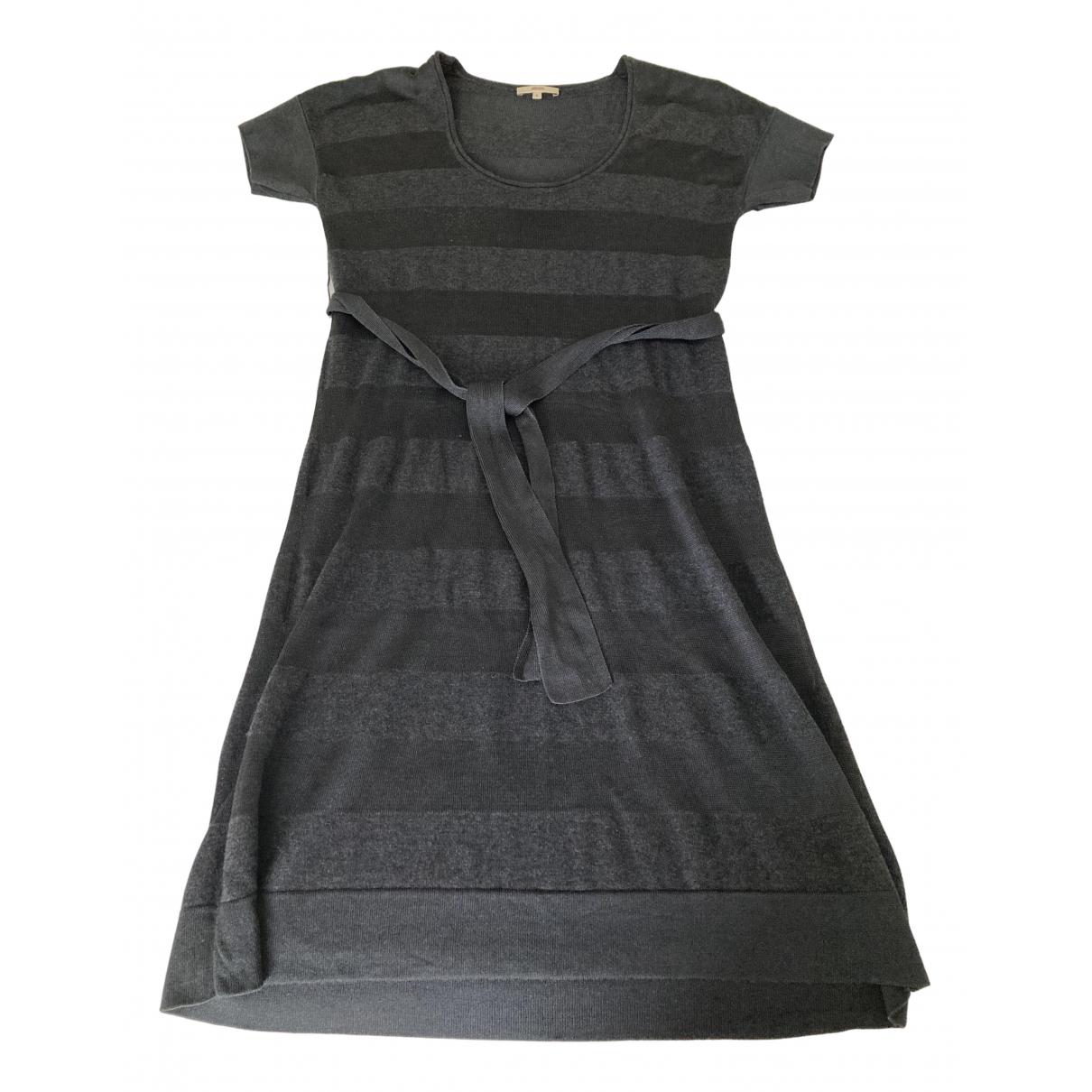 Kenzo \N Kleid in  Grau Wolle