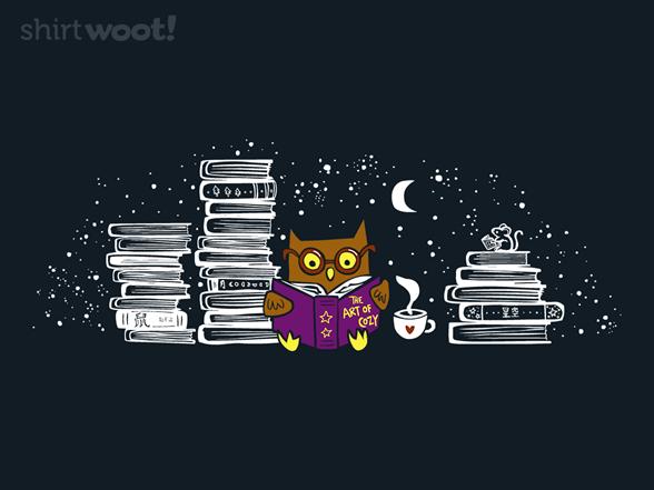 Night Reader T Shirt