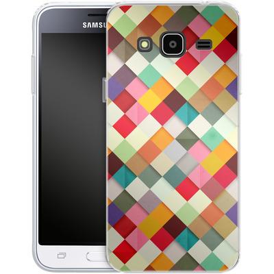 Samsung Galaxy J3 (2016) Silikon Handyhuelle - Pass This On von Danny Ivan