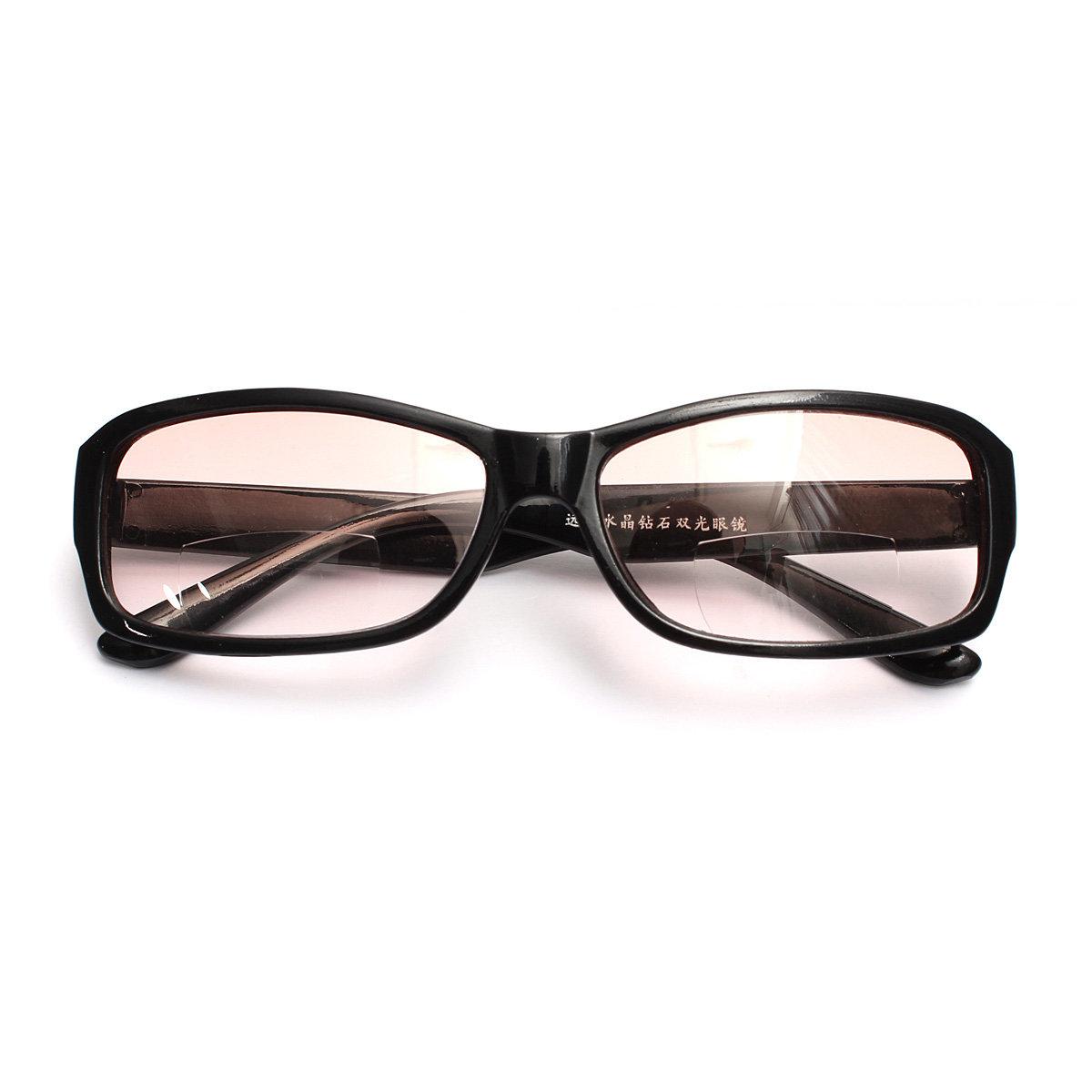New Black Bifocal Reading Eyeglasses Sunglasses Reading Eyeglasses Double Function Glasses Eye Care