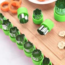 12pcs Stainless Steel Biscuit Mold Set