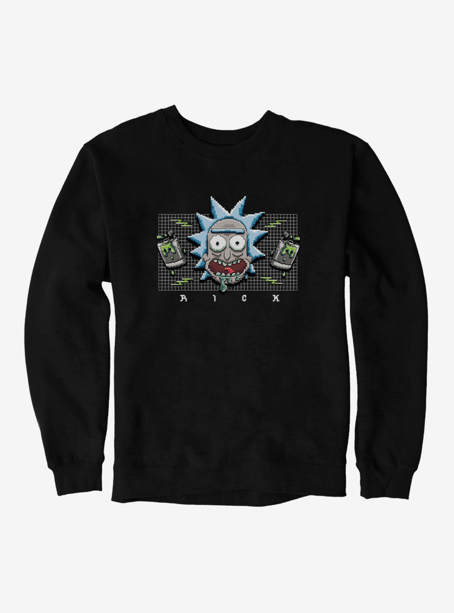 Rick And Morty Loud Rick Sweatshirt