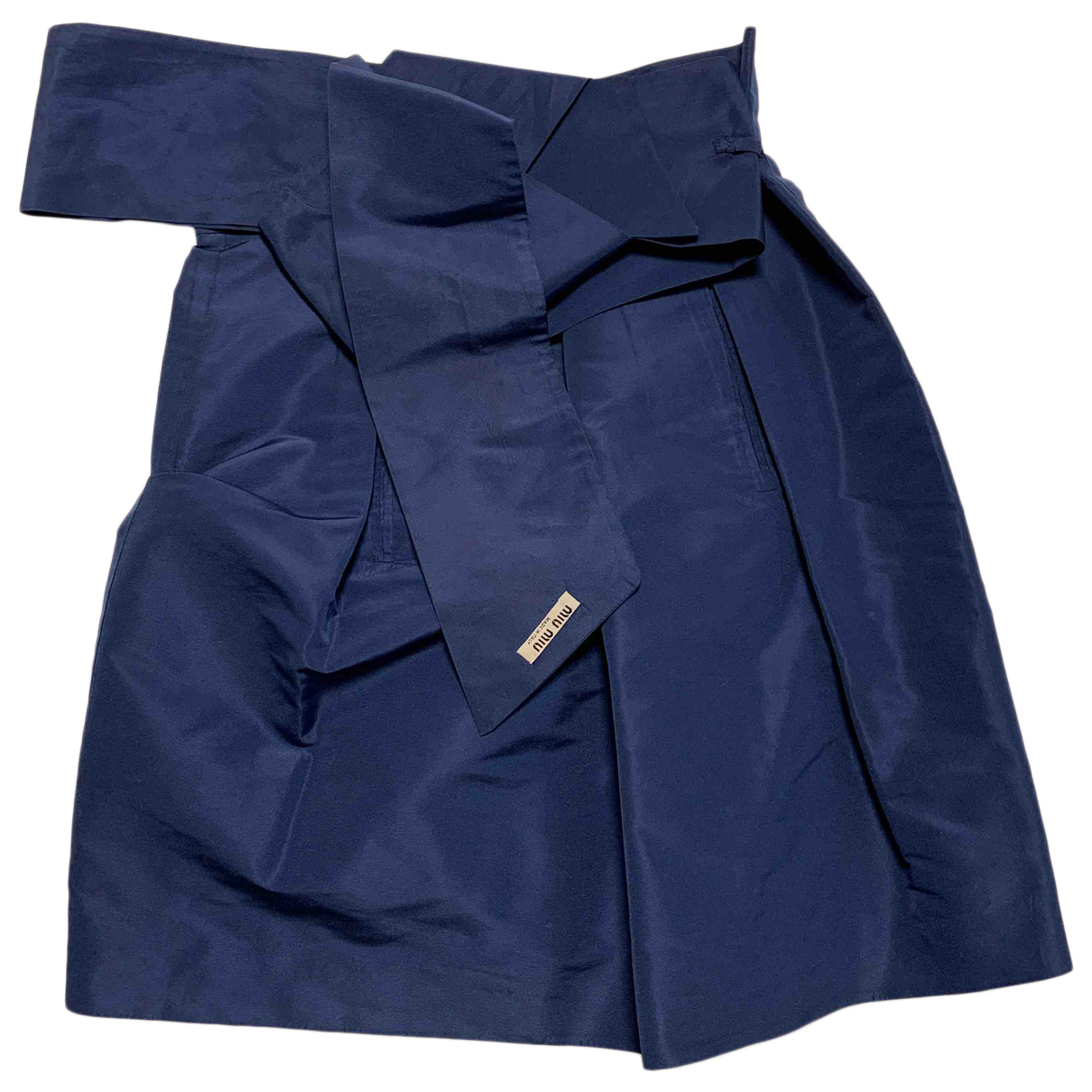 Miu Miu \N Rocke in  Blau Polyester