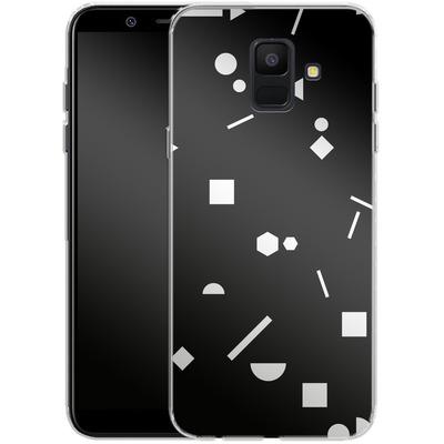 Samsung Galaxy A6 Silikon Handyhuelle - My Favourite Pattern 3 von Mareike Bohmer