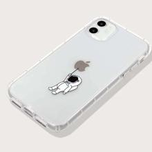 Astronaut Print iPhone Case