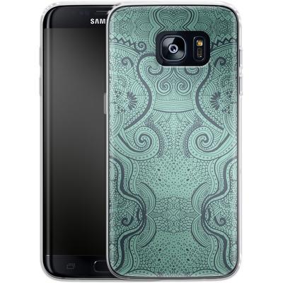 Samsung Galaxy S7 Edge Silikon Handyhuelle - Visnu von Daniel Martin Diaz