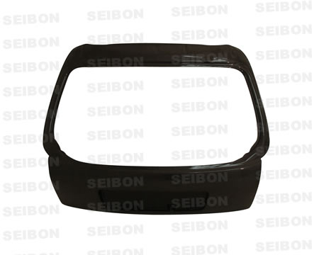 Seibon TL9600HDCVHB Carbon Fiber OEM-Style Rear Hatch Trunk Lid Honda Civic HB 96-00