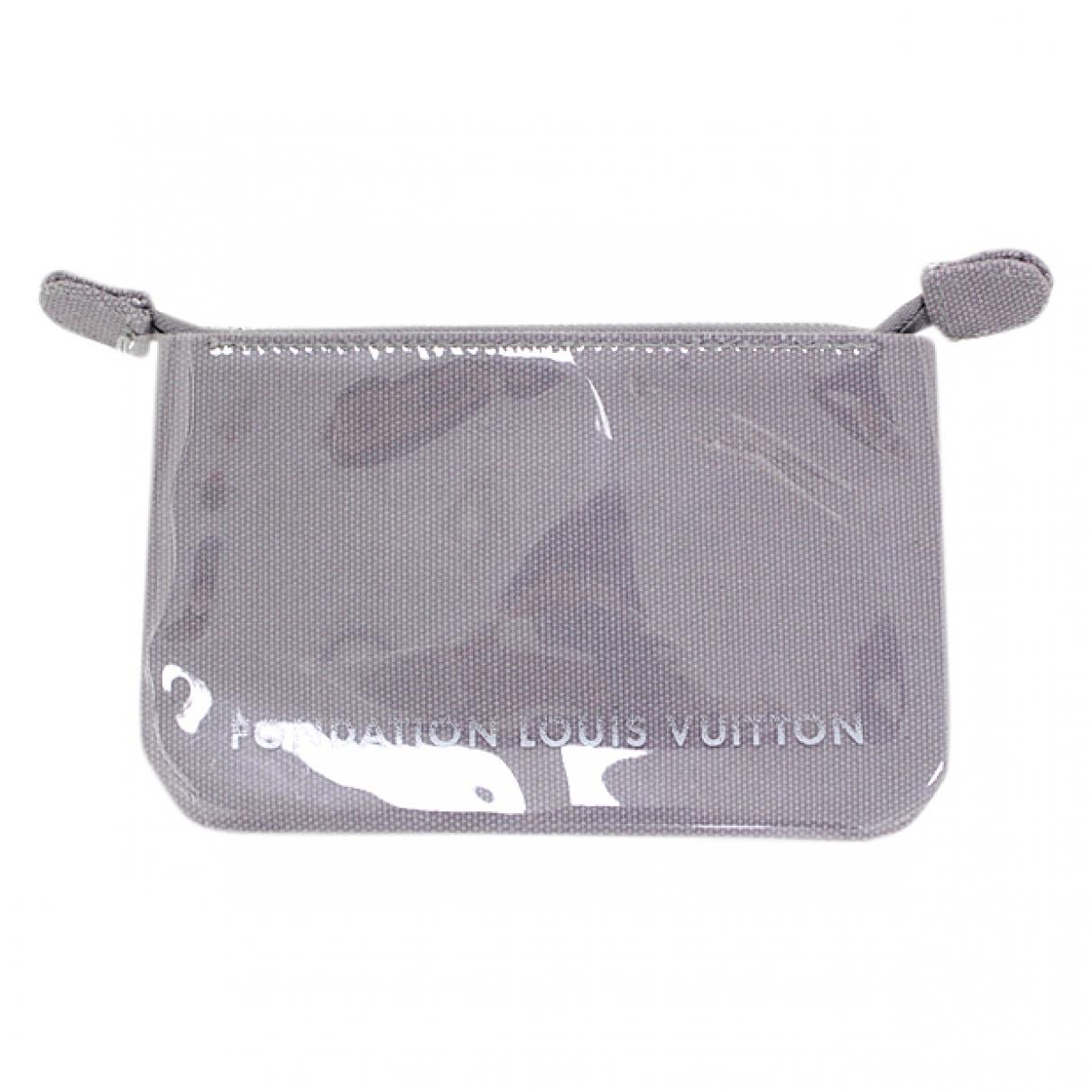 Louis Vuitton \N Grey Purses, wallet & cases for Women \N