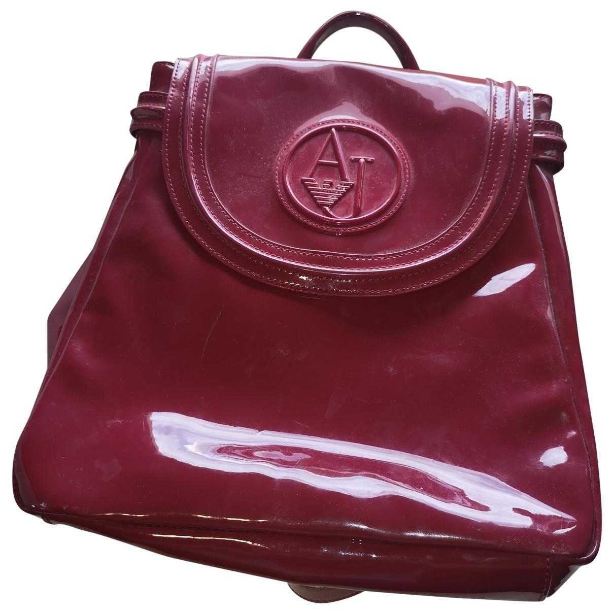 Armani Jeans \N Burgundy backpack for Women \N