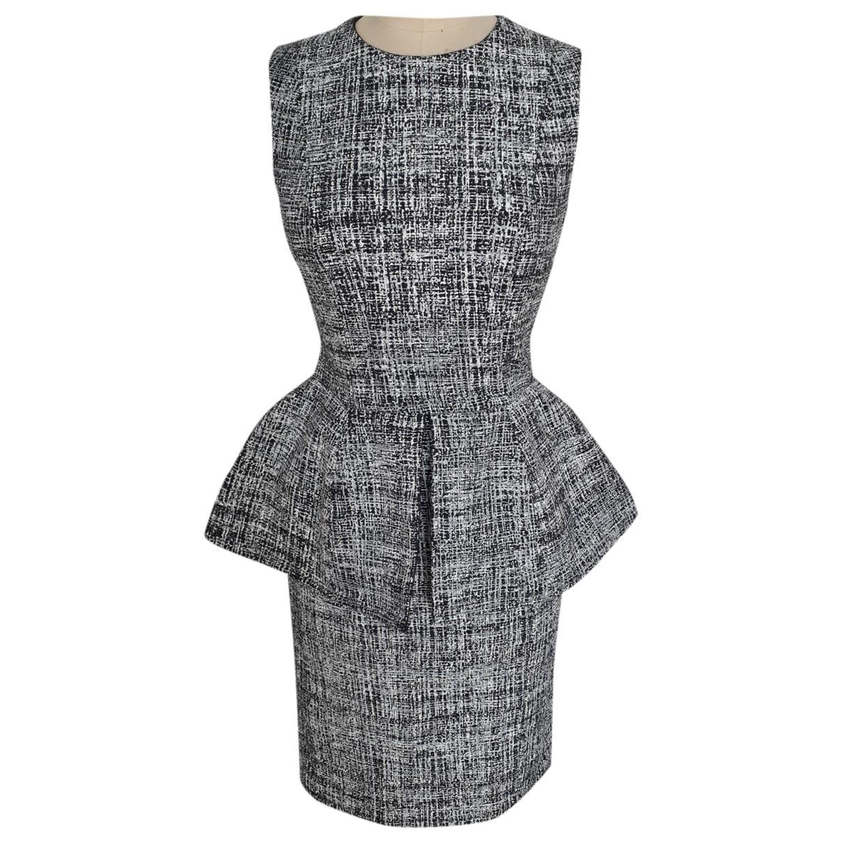 Msgm - Robe   pour femme en coton - gris
