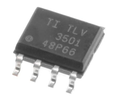 Texas Instruments TLV3501AID , Comparator, Push-Pull O/P, 3 V, 5 V 8-Pin SOIC (5)