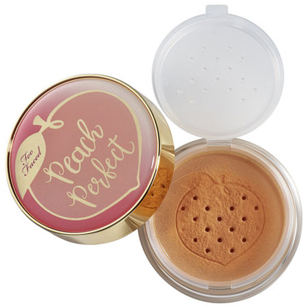 Too Faced Peach Perfect Mattifying Loose Setting Powder- Peaches and Cream Collection, One Size , No Color Family