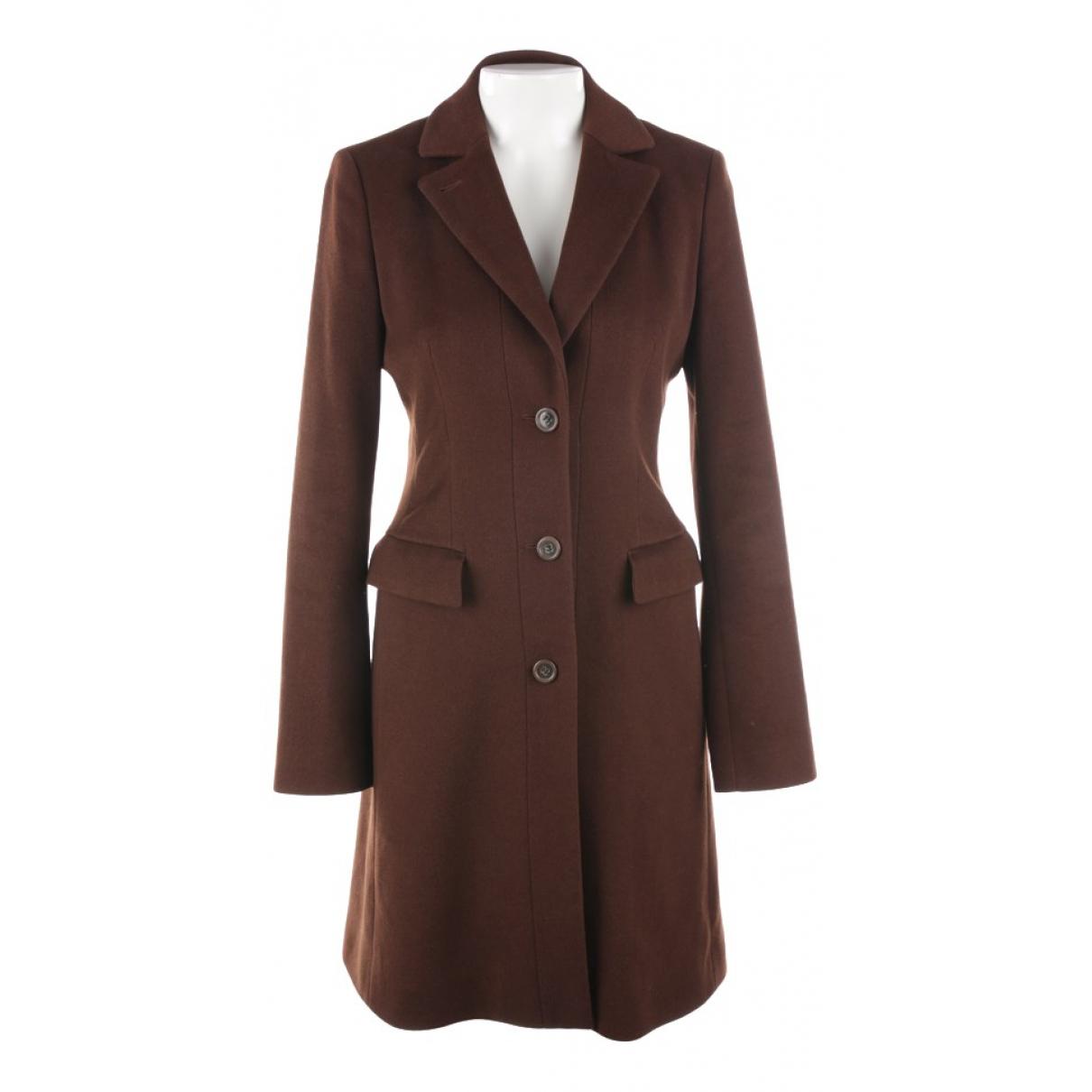 Hugo Boss \N Brown Wool jacket for Women 36 FR