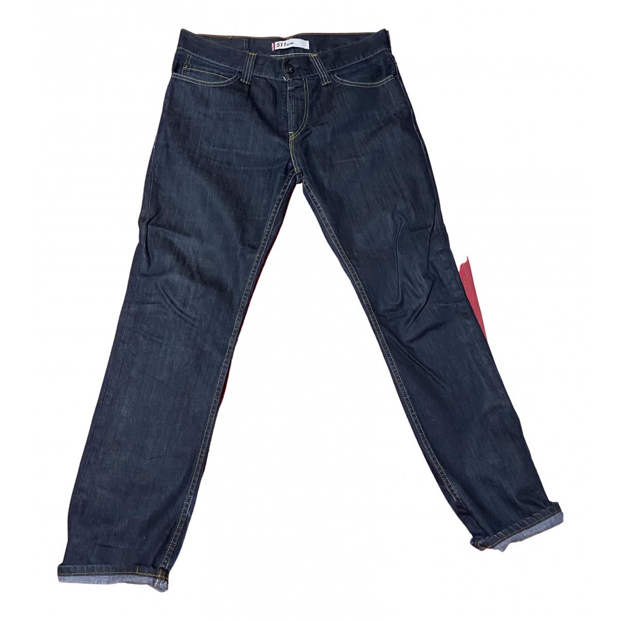 Levi's \N Blue Denim - Jeans Trousers for Men L International