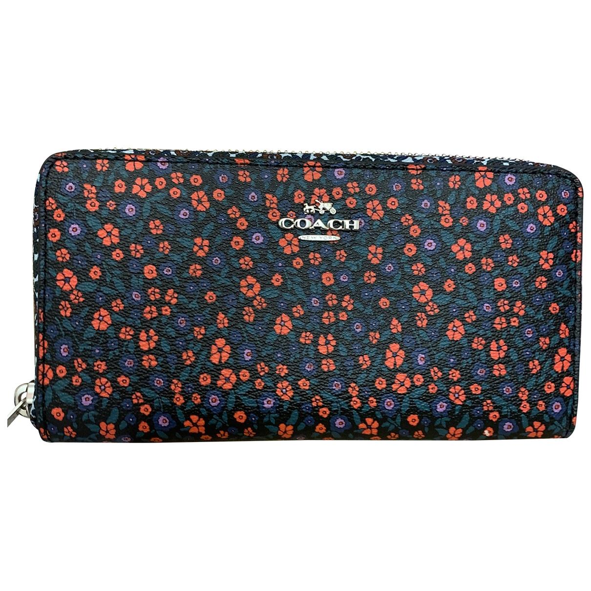 Coach \N Multicolour Leather wallet for Women \N