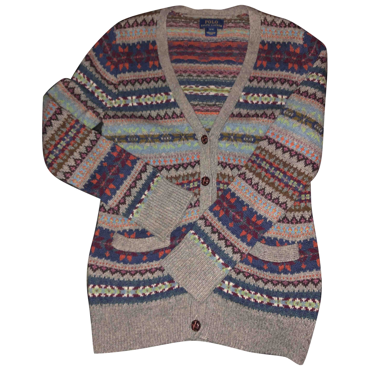 Polo Ralph Lauren \N Grey Cotton Knitwear for Kids 6 years - until 45 inches UK