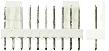 Molex , KK 254, 6410, 9 Way, 1 Row, Straight PCB Header (5)