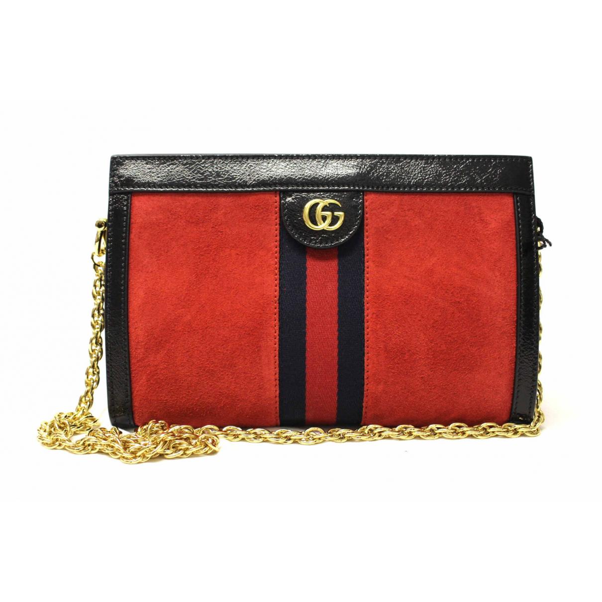 Gucci - Pochette   pour femme en toile - marron