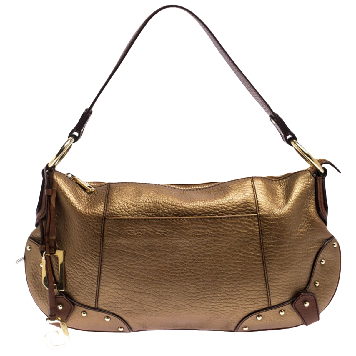 Dolce & Gabbana \N Gold Leather handbag for Women \N