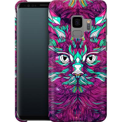 Samsung Galaxy S9 Smartphone Huelle - Space Cat von Danny Ivan