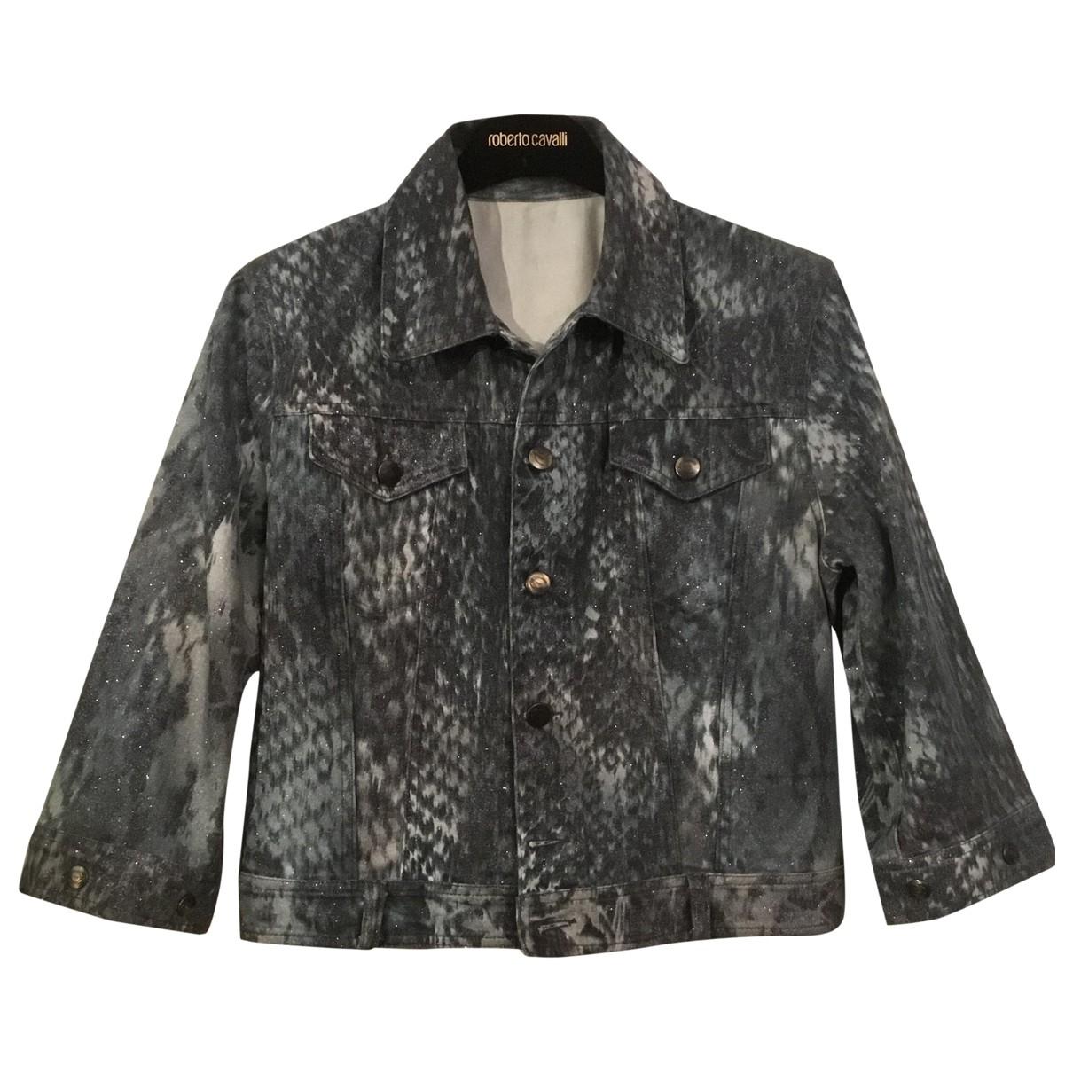 Just Cavalli \N Multicolour Denim - Jeans jacket for Women S International