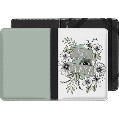 Kobo Aura eBook Reader Huelle - No Drama - Green von Barlena
