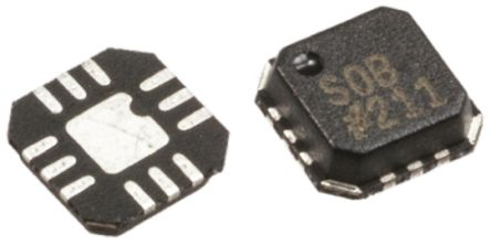 Analog Devices ADG1204YCPZ-500RL7 , Multiplexer Single 4:1, 12 V, 12-Pin LFCSP VQ