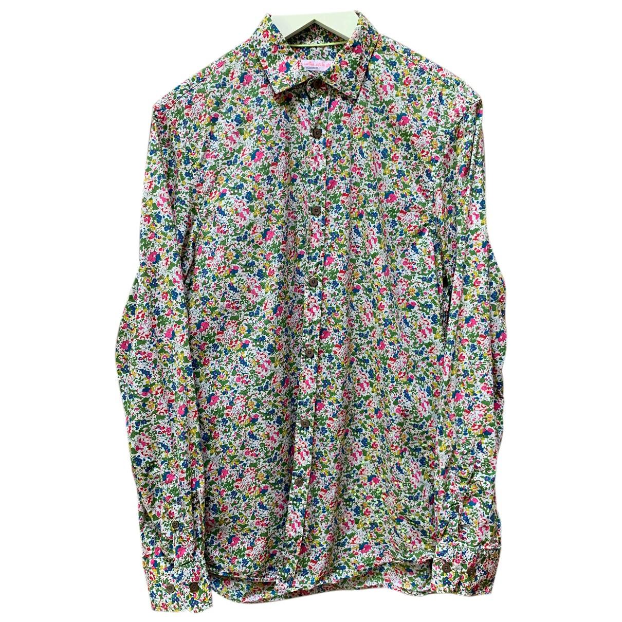 Autre Marque - Chemises   pour homme en coton - multicolore