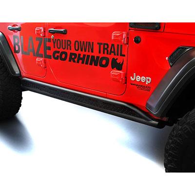 Go Rhino JL Frame Mount Rock Sliders - FS4506T