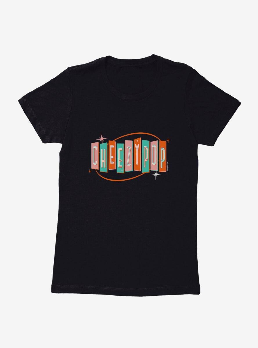 BL Creators: mrcheezypop Retro Cheezypop Sign Womens T-Shirt
