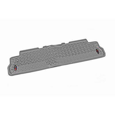 Rugged Ridge All Terrain Floor Liner, Rear (Gray) - 84951.12