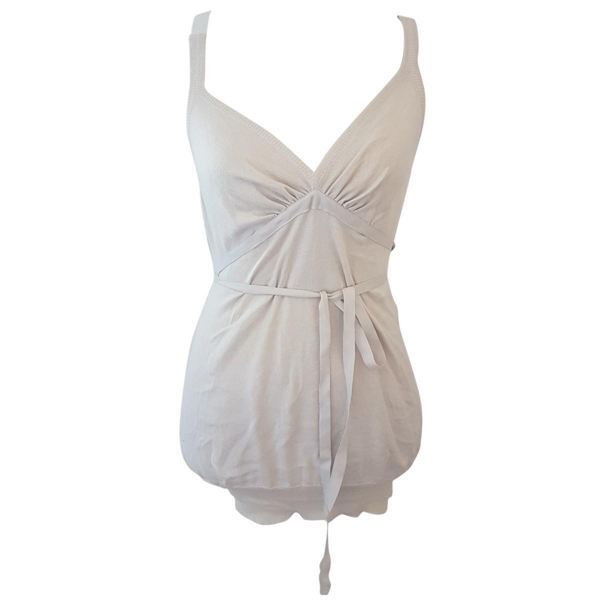 Stella Mccartney - Top   pour femme en coton - beige