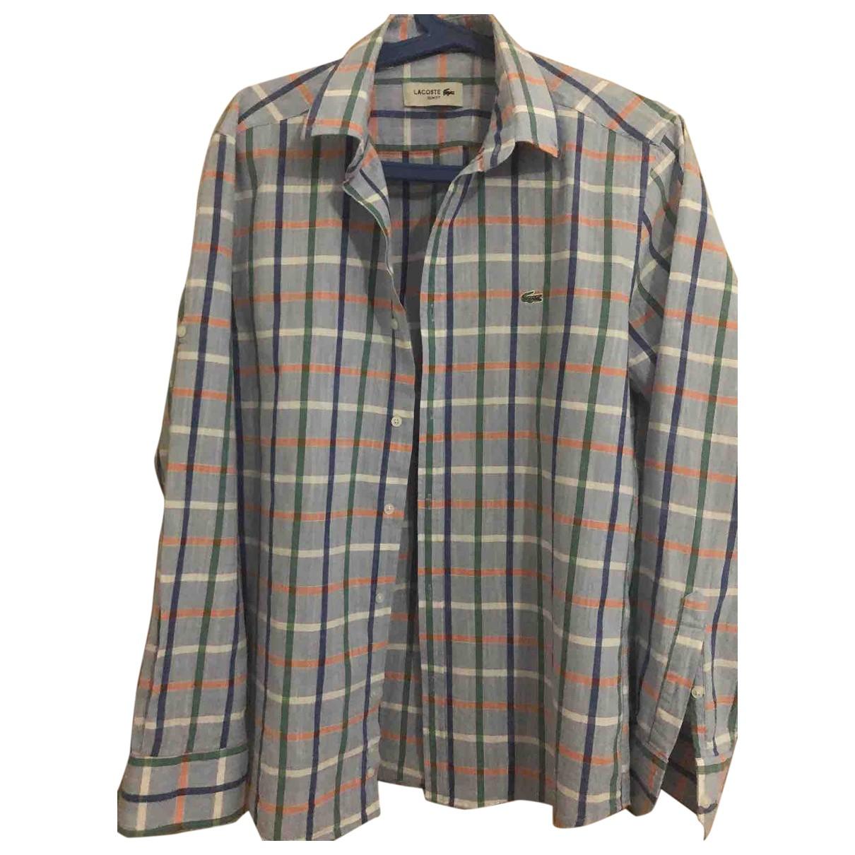 Lacoste \N Multicolour Cotton Shirts for Men L International