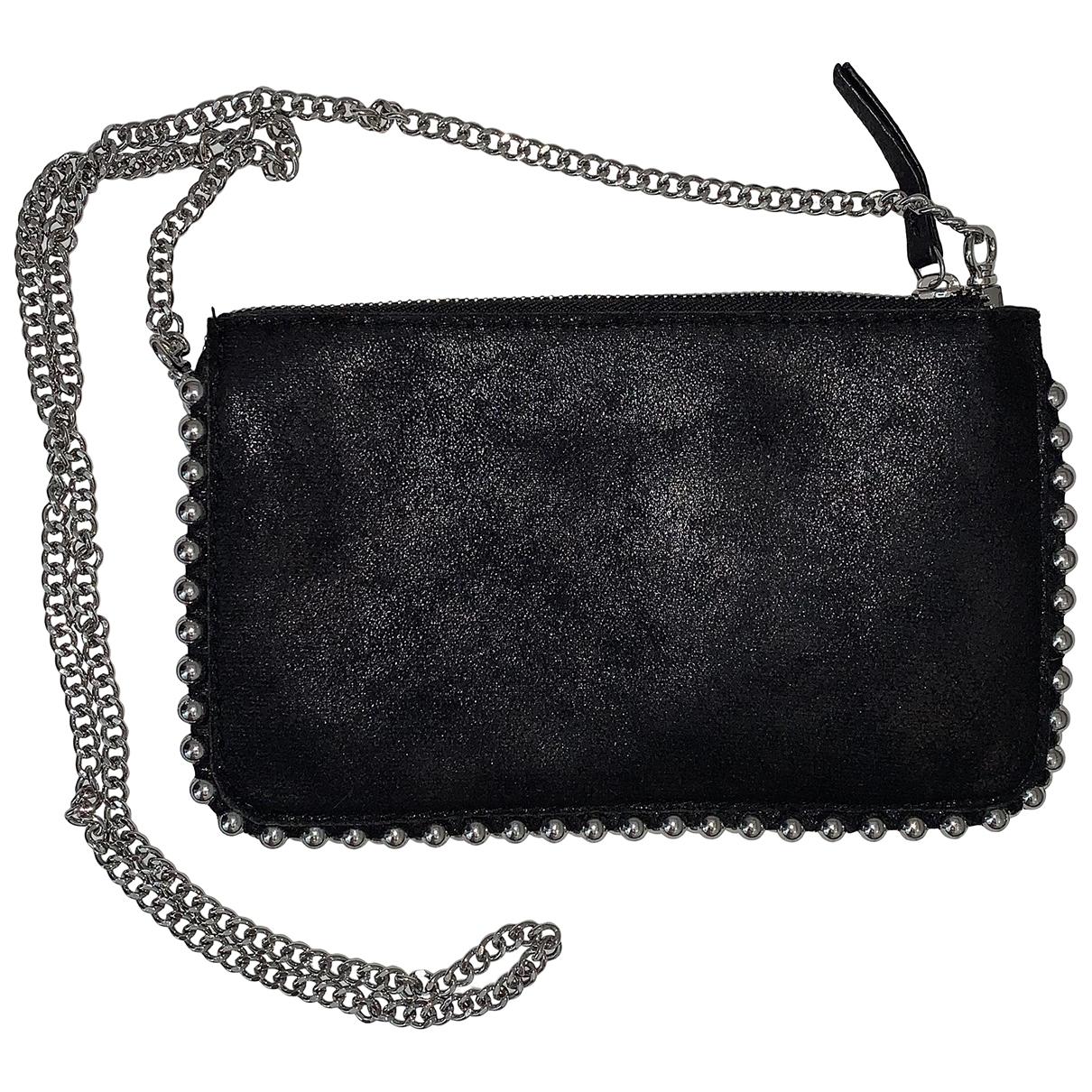 Bolsos clutch en Poliester Negro Zara