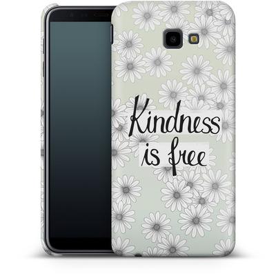 Samsung Galaxy J4 Plus Smartphone Huelle - Kindness is Free von Barlena